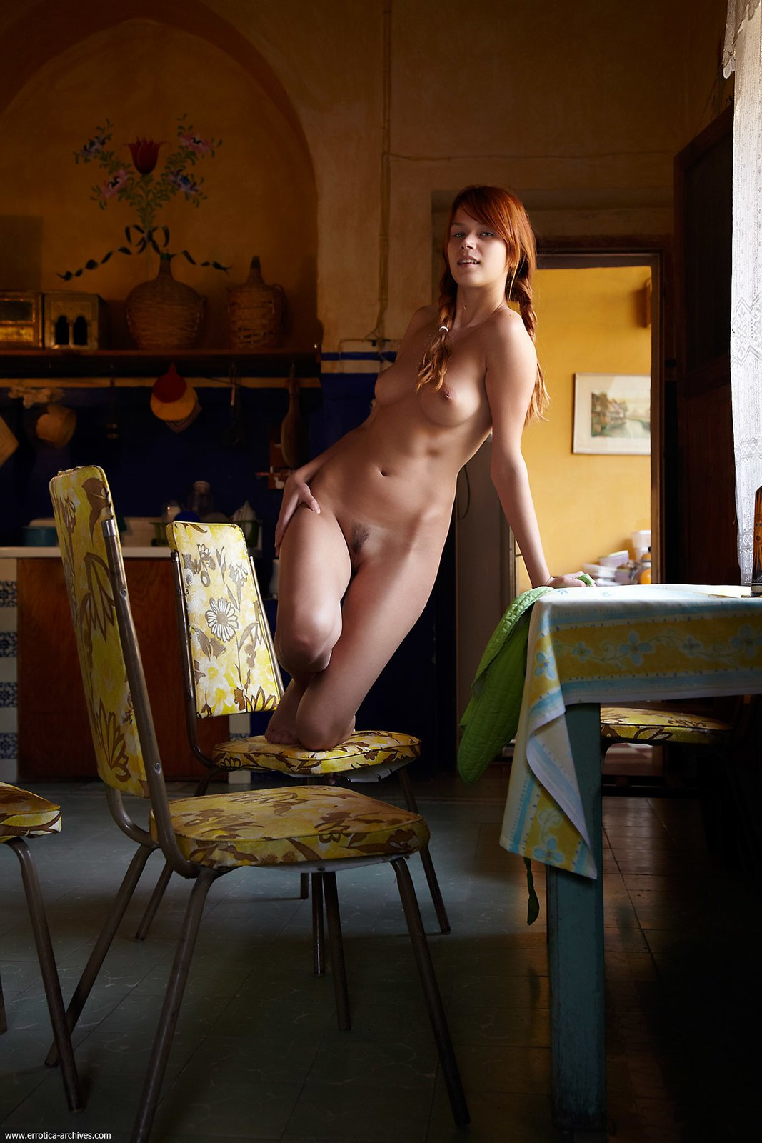 Nude redhead housewives — photo 7