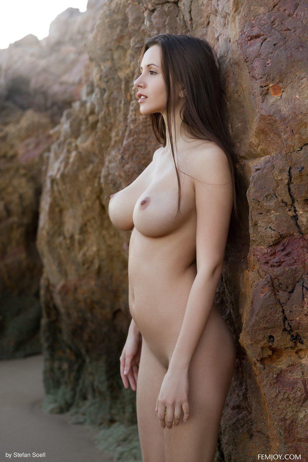 Natural beautiful tasteful naked